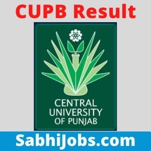 CUPB Result