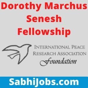 Dorothy Marchus Senesh Fellowship
