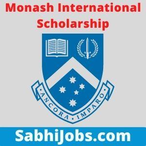 Monash International Scholarship