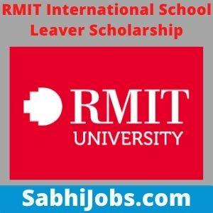 RMIT International School Leaver Scholarship