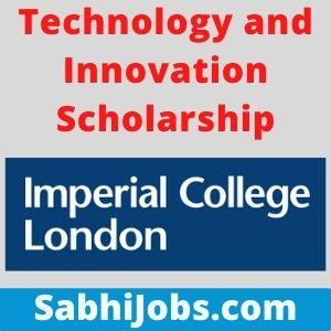 Technology and Innovation Scholarship