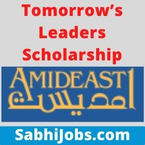 Tomorrow's Leaders Scholarship 2021 – Last Date, Benefits, Eligibility, Applications
