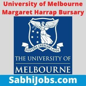 University of Melbourne Margaret Harrap Bursary