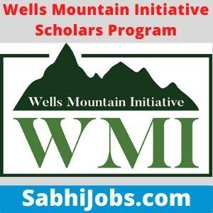 Wells Mountain Initiative Scholars Program 2021 – Last Date, Eligibility, Applications