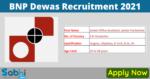 BNP Dewas Recruitment 2021