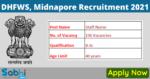 DHFWS, Midnapore Recruitment 2021