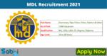 MDL Recruitment 2021