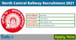 North Central Railway Recruitment 2021